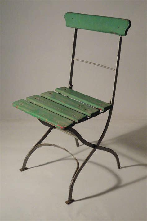 chaises anciennes diverses chaises de jardin pliables anciennes vendu
