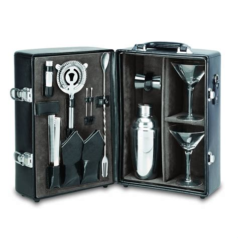 Picnic Time Two-Bottle Portable Cocktail Set - So That's Cool