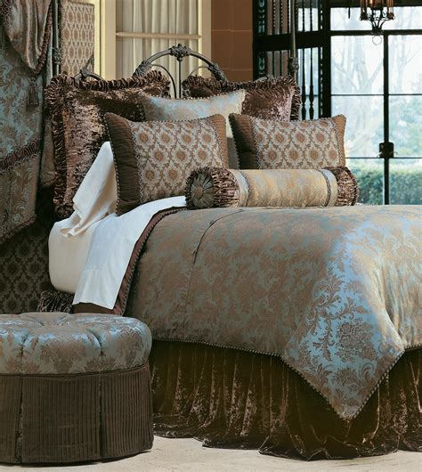 luxury bedspreads comforters luxury bedding by eastern accents foscari collection