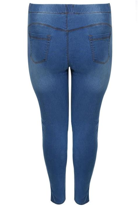 date post jenny template responsive mid blue pull on lola jeggings plus size 16 to 32
