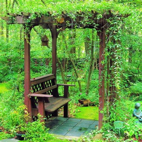 how to build arbors and trellises how to build a bench with an arbor sunset