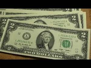 2 Bill Sequential Serial Number Dream Come True Youtube