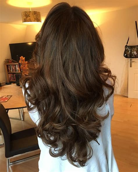 cool  gorgeous chocolate brown hair color      check   http