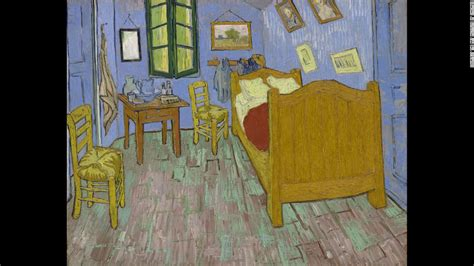 gogh bedroom painting gogh why he cut his ear cnn