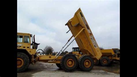 volvo  articulated dump truck  sale sold