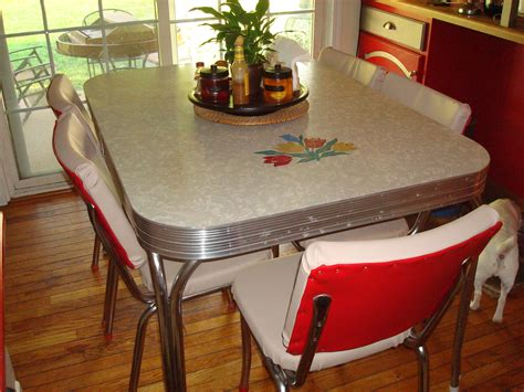 1950s kitchen furniture 1950 s retro kitchen table chairs bringing back classic new york city diner to your kitchen