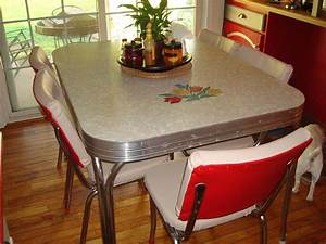 Retro kitchen table recuerdos pinterest for Retro kitchen table