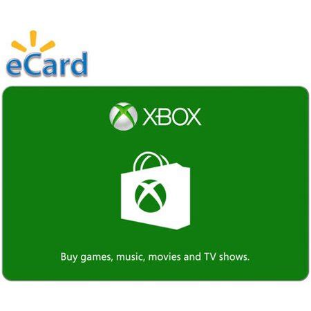 5 xbox gift card xbox digital gift card 5 email delivery walmart