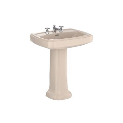 Toto Guinevere Pedestal Sink by Toto Guinevere Pedestal Combo Bathroom Sink In Bone Lpt970