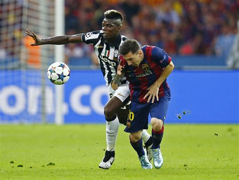 Pogba Wants To Improve By Combining Skills Of Messi