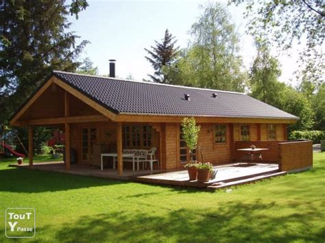 chalet bois kit belgique terrasse en bois