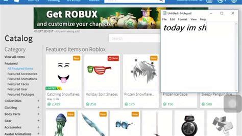 roblox  febuary hack     robux
