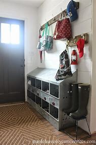 DIY Entryway Shoe Storage Ideas