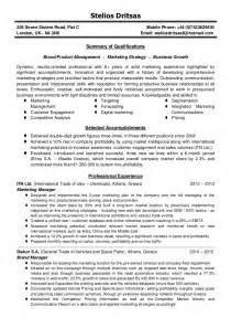 manager resume summary marketing manager resume summary cv brand product marketing manager stelios dritsas stelios