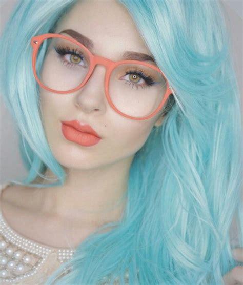 Blue Hair Anastasiabeverlyhills Dyed Hair And Pastel Hair