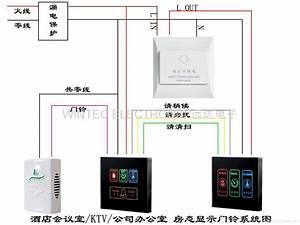Doorbell Wiring Diagram  4in1  China Manufacturer