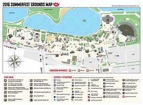 Summerfest Grounds Map Image Mag - Summerfest grounds map