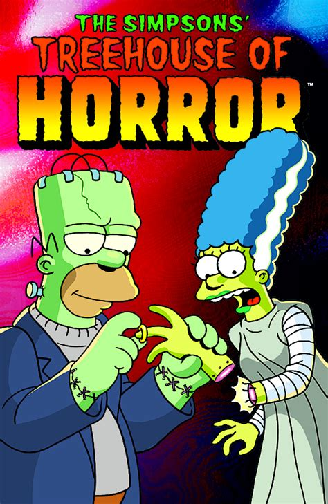 Previewsworld  Simpsons Treehouse Of Horror #17