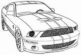 Coloring Mustang Pages Printable Popular sketch template