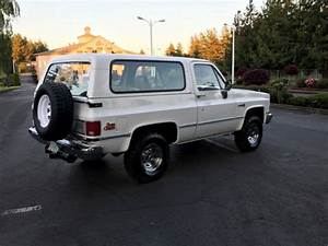 1987 Gmc Jimmy 4x4 2-door K5 Blazer 5 7l V8 Eng U0026 39  94k Miles 2 U0026 39 Owner Rust Free For Sale