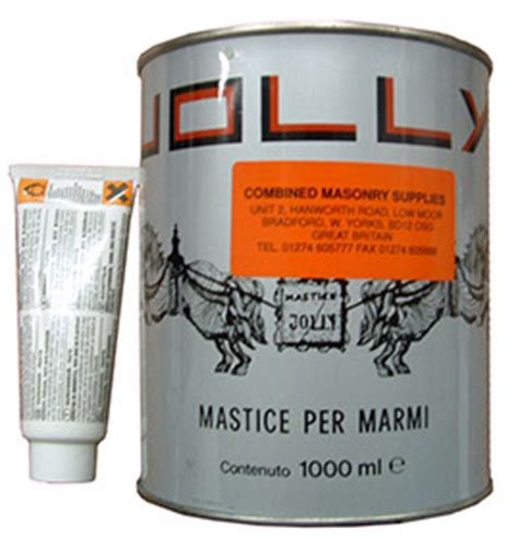 jolly mastic adhesive filler for granite marble