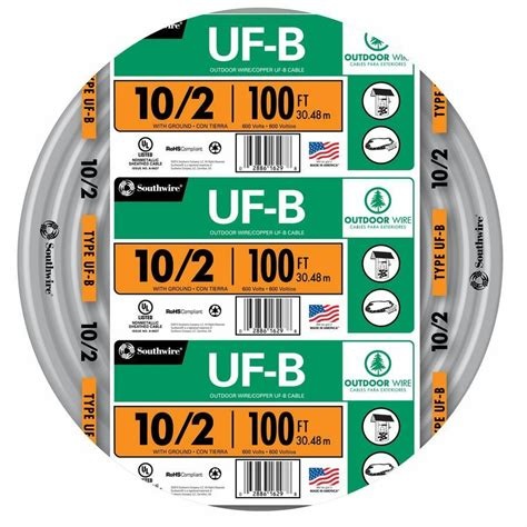 Roll Awg Ufb Gauge Outdoor Electrical Feeder