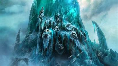Lich King Warcraft Backgrounds Wallpapers Abyss Rise