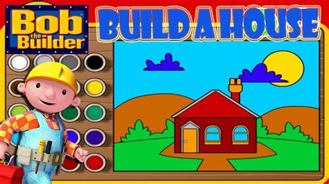 bob  builder game video build  house episode bob