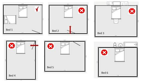 floor plans with 2 master bedrooms feng shui bed placement tips for the bedroom