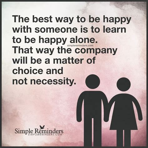 Live Happy Alone Quotes