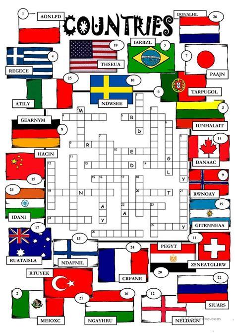 countries worksheet  esl printable worksheets