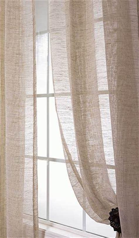 shopping guide sheer linen drapes  frugal