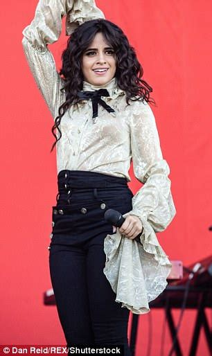 Camila Cabello Wows Gold Blouse She Performs Isle