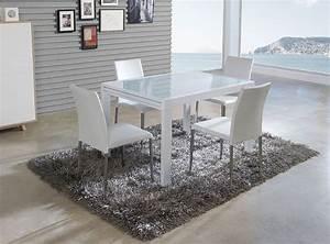 table de salle a manger rectangulaire avec rallonge With salle À manger contemporaineavec table salle a manger rectangulaire avec rallonge