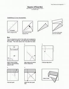 Origami Diagram Box