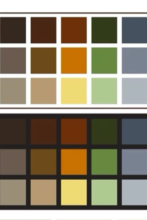 what are earth tone colors earth tones color schemes earth tones and