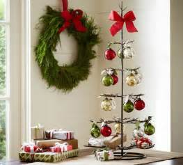 metal ornament tree contemporary holiday accents and figurines by pottery barn