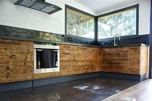 le beton cire en six questions pour bien l39utiliser With cuisine beton cire bois