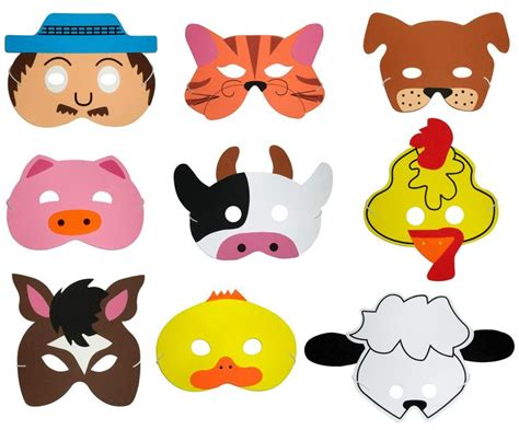 chicken foam mask google search animal mask templates