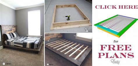easy diy platform bed  plan home design garden architecture blog magazine