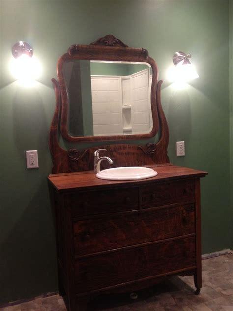 old dressers made into sinks antique dresser made into bathroom vanity antique