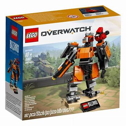 Lego Bastion Omnic Brick Edition Overwatch Limited