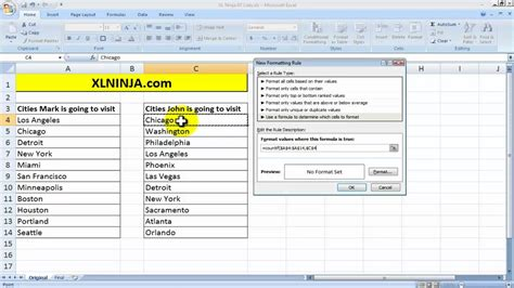 compare two sheets in excel formula compare values in