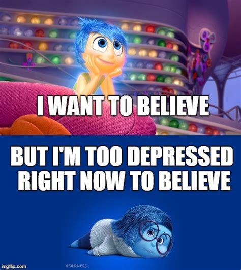Inside Out Memes - inside out joy vs sadness imgflip