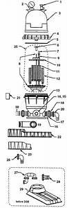 Pentair Warrior D E  Filter Parts