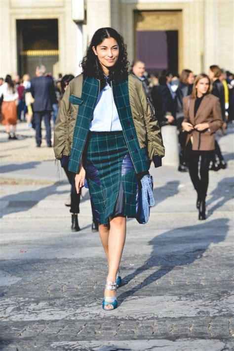 How To Style Tartan Skirts Wardrobelookscom