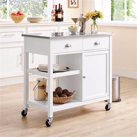 how to a small kitchen island kitchen islands for small kitchens popsugar home