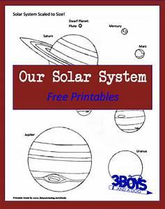 Free Solar System Printables – 3 Boys and a Dog