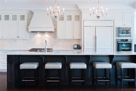 pair  george ii chandeliers hang   black kitchen