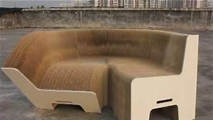PaperSofa com - Expandable Paper Chair - Flexible Paper
